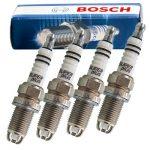 طقم بوجية 2 شمعة سن 16 رفيع روسى BOSCH هيونداى نيو اكسنت ( 2006 - 2011 )