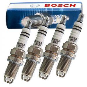 طقم بوجية 2 شمعة سن 16 رفيع روسى BOSCH ميتسوبيشى لانسر ( 1997 - 2000 )
